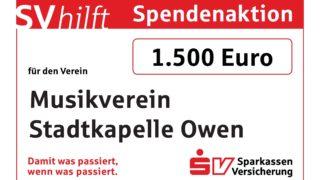 Owener Musiker gewinnen 1.500 Euro für den Verein