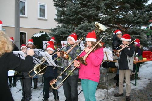 Christbaumaufstellen TSV am 01.12.2012 - 04