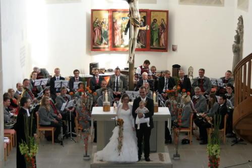 Hochzeit Markus und Sabine am 28. September 2013