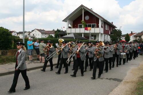 Kreisfeuerwehrfest in Neuffen am 07. Juli 2013