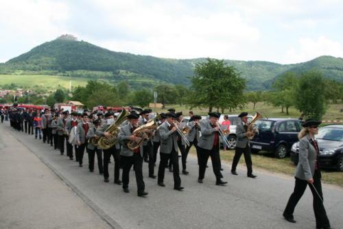 Kreisfeuerwehrfest Neuffen am 07.07.2013 - 08