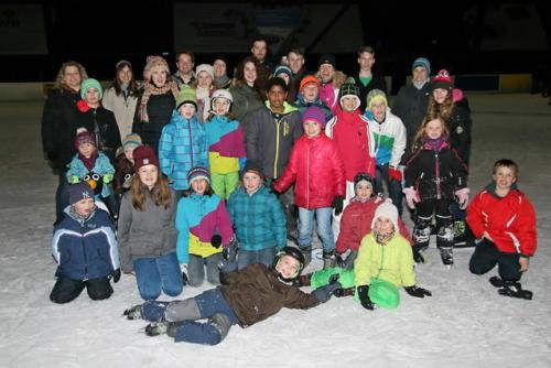 Schlittschuhlaufen in Wernau am 22. Januar 2015