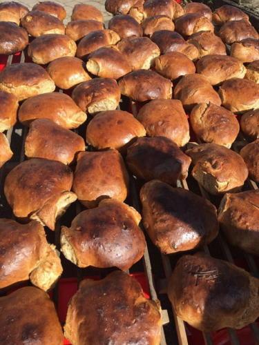 Brotbackaktion am 13.10.2017 - 10