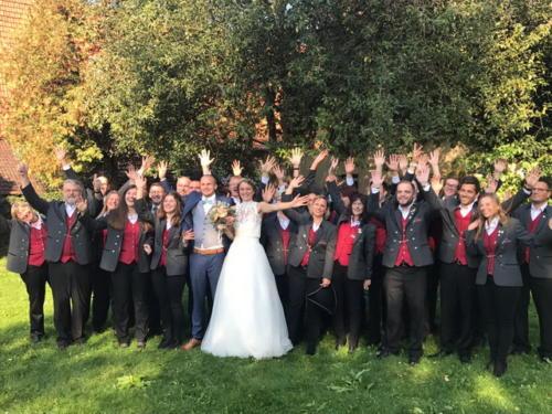 Hochzeit Magda und Benny am 23. September 2017