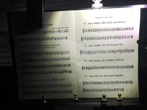 Choral zum Jahreswechsel 31. Dezember 2020