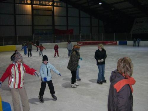 Schlittschuhlaufen in Wernau am 27. Januar 2006