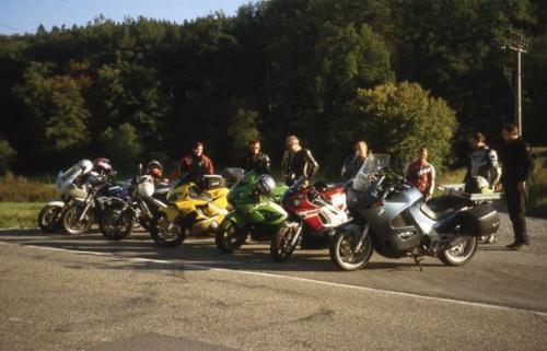 1. Motorradausfahrt des Musikverein am 23. September 2007