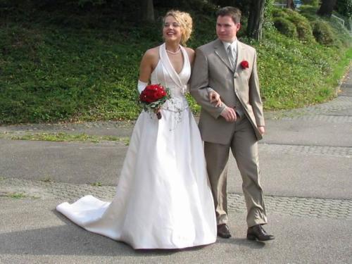Hochzeit Daniela und Jens am 27. August 2005