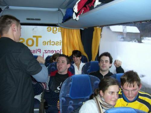 Skifahren im Montafon am 18. Februar 2006