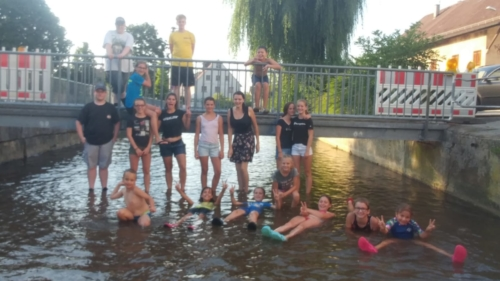 JuKa geht baden am 25. Juli 2019
