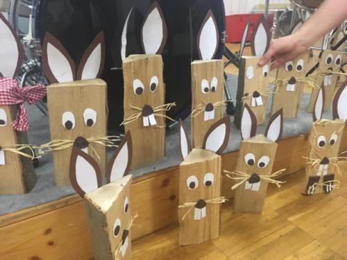 JuKa bastelt für's Frühlingsfest am 28. Februar 2019