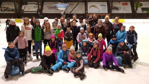 Schlittschuhlaufen in Wernau am 17. Januar 2019
